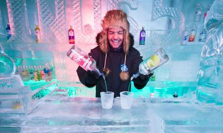 Minus 5º ICE BAR - Entry & ICE Cocktails